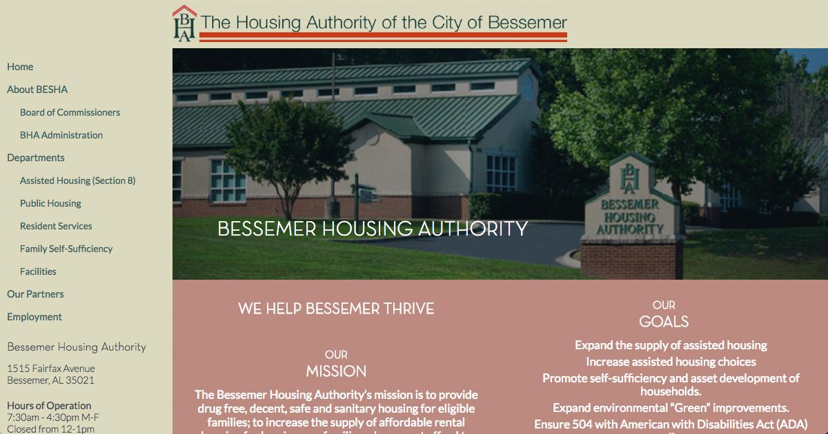 Home Bessemer Housing Authority