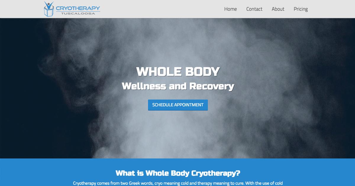 Home | Cryotherapy Tuscaloosa