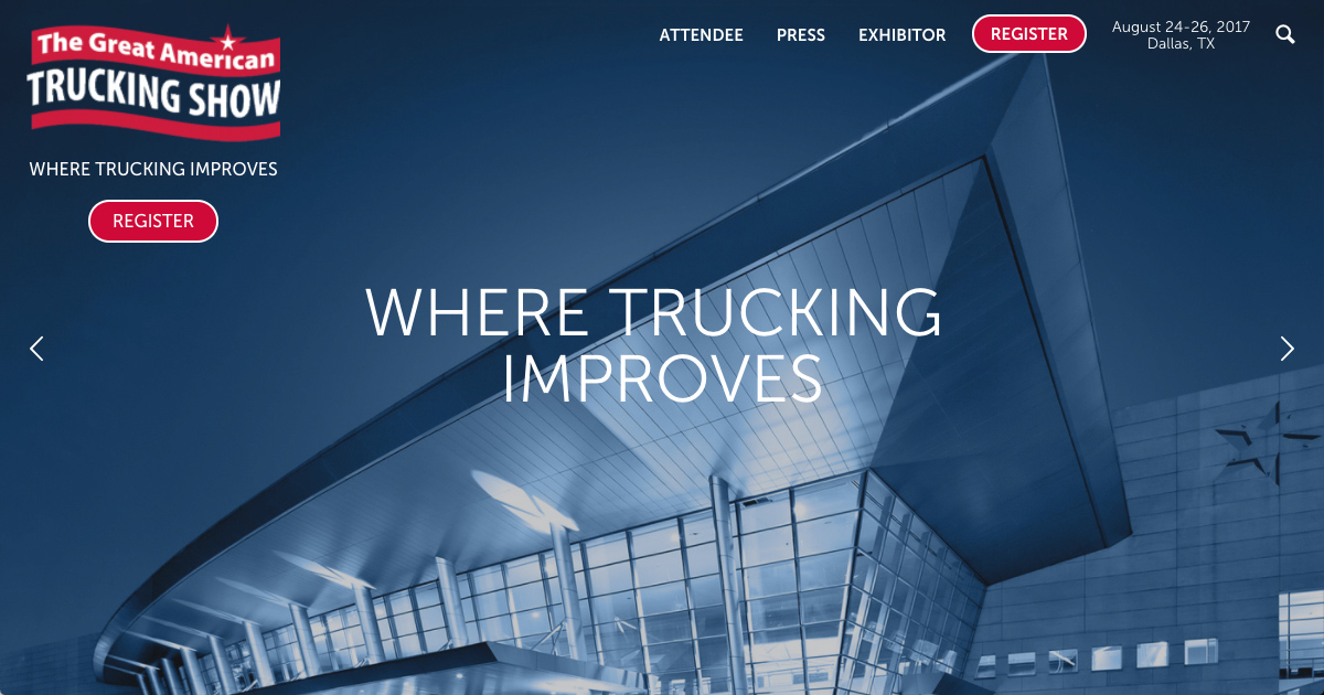The Great American Trucking Show - Where Trucking Takes Care of Business