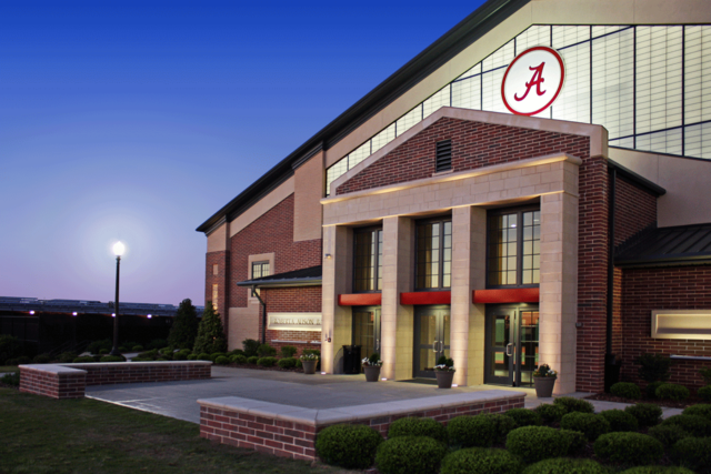 University of Alabama Indoor Tennis Facility