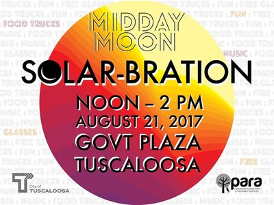 PARA and City of Tuscaloosa to Host Viewing of Solar Eclipse