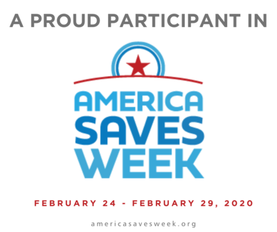 America Saves Week Helps You Start a Great Habit