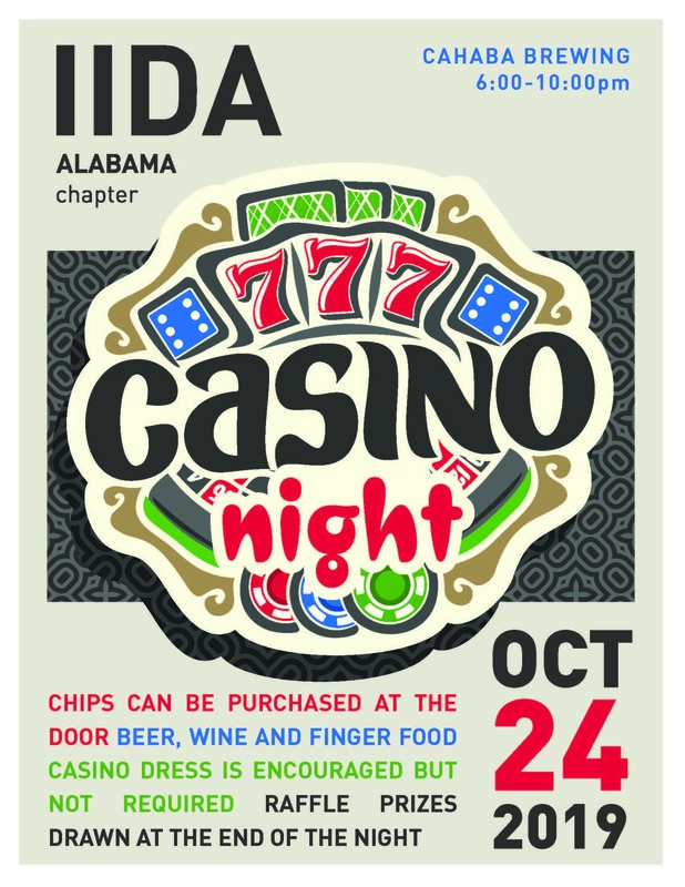 IIDA AL Birmingham Casino Night