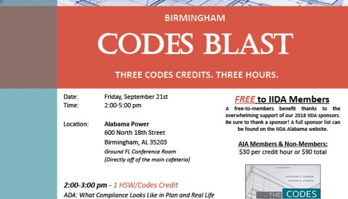 Birmingham September Codes Blast CEU 1