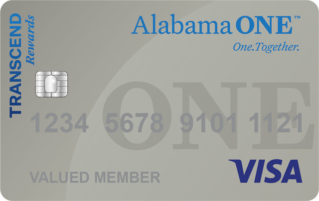 Transcend Visa Credit Card