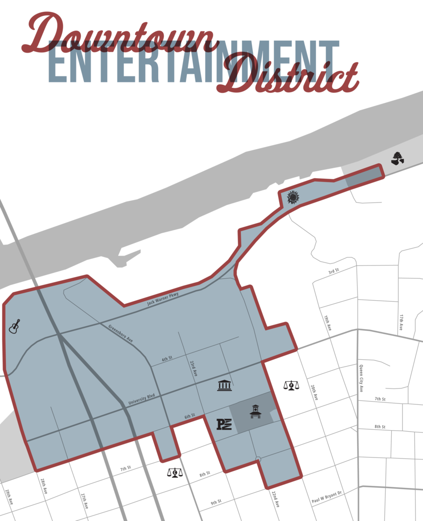 Downtown Entertainment District | City of Tuscaloosa
