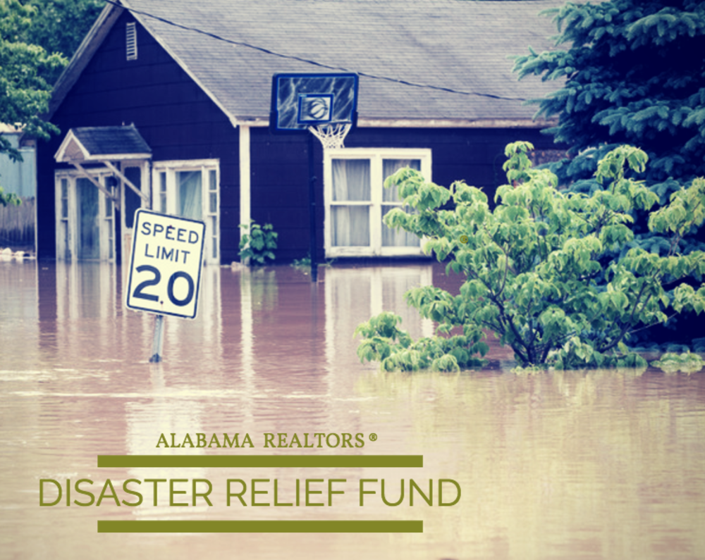Alabama REALTORS® Disaster Relief Fund Makes Donation to Hurricane Harvey Recovery Efforts