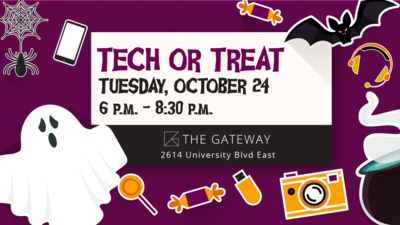 City of Tuscaloosa Hosts Second Annual 'Tech-or-Treat' Night at Tuscaloosa Gateway