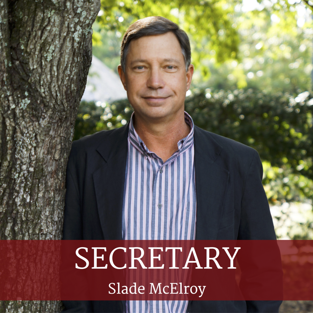 Get to Know 2018 Secretary, Slade McElroy