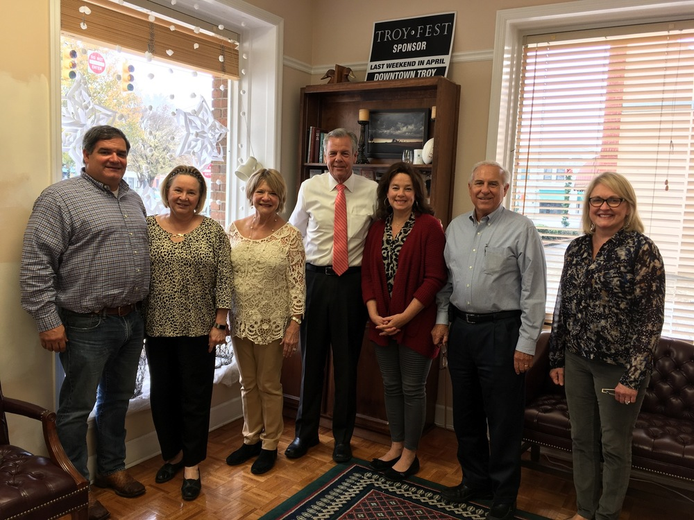 President Sid Pugh Begins Local Board Visits in Pike County