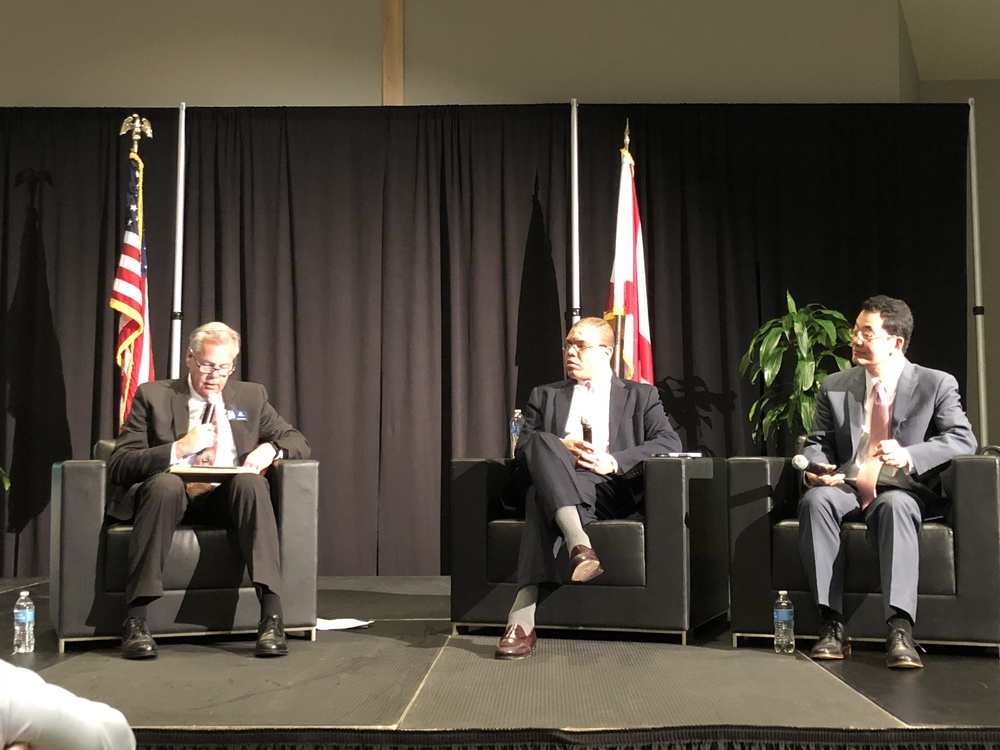 President Sid Pugh Moderates North Alabama Housing Summit 2018 Economic Update
