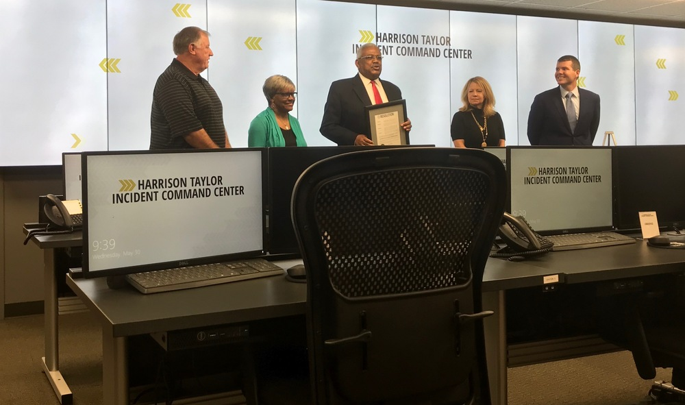 City of Tuscaloosa Dedicates Harrison Taylor Incident Command Center