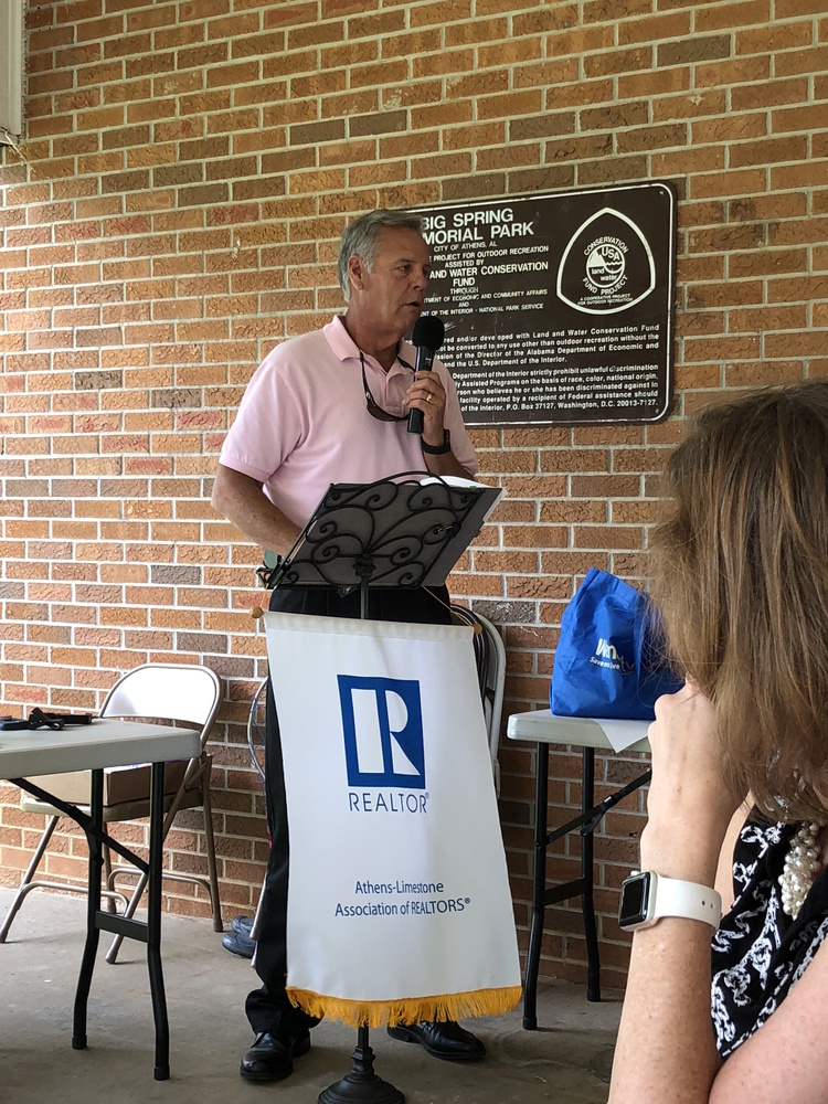 President Sid Pugh Attends Athens-Limestone Association of REALTORS® Installation Event
