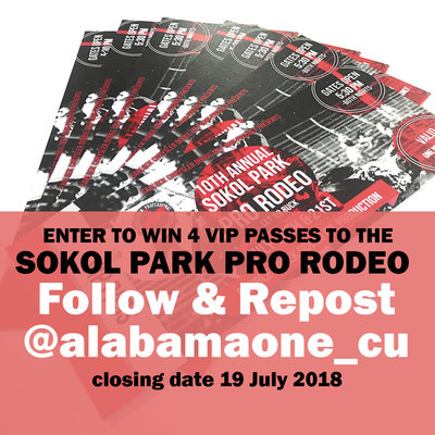 Enter to Win Tickets to Sokol Park Pro Rodeo
