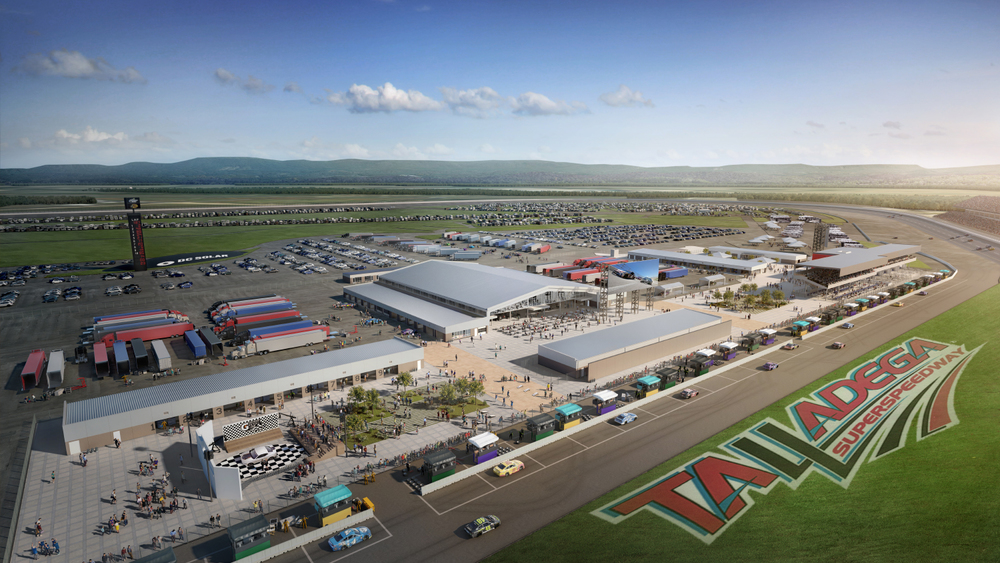 Talladega Superspeedway to Invest $50 Million in Infield Renovations