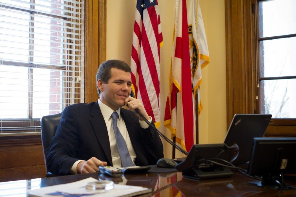 Mayor Walt Maddox Presents 2019 Budget Proposal to City Council
