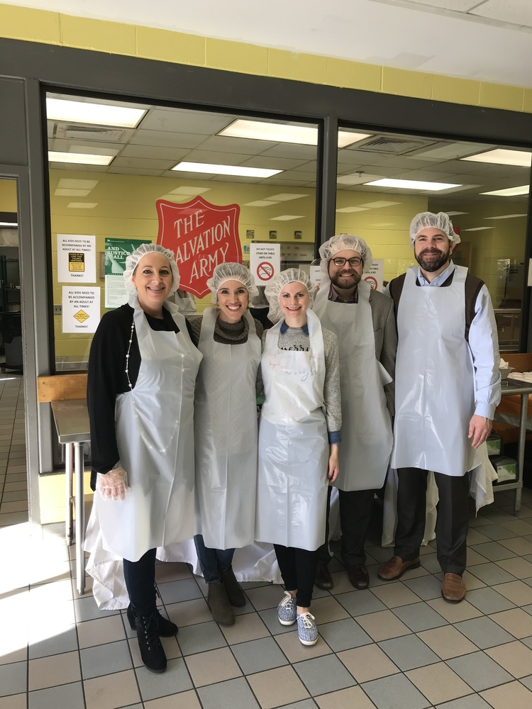Giving Back to the Community: Volunteering at The Salvation Army Soup Kitchen