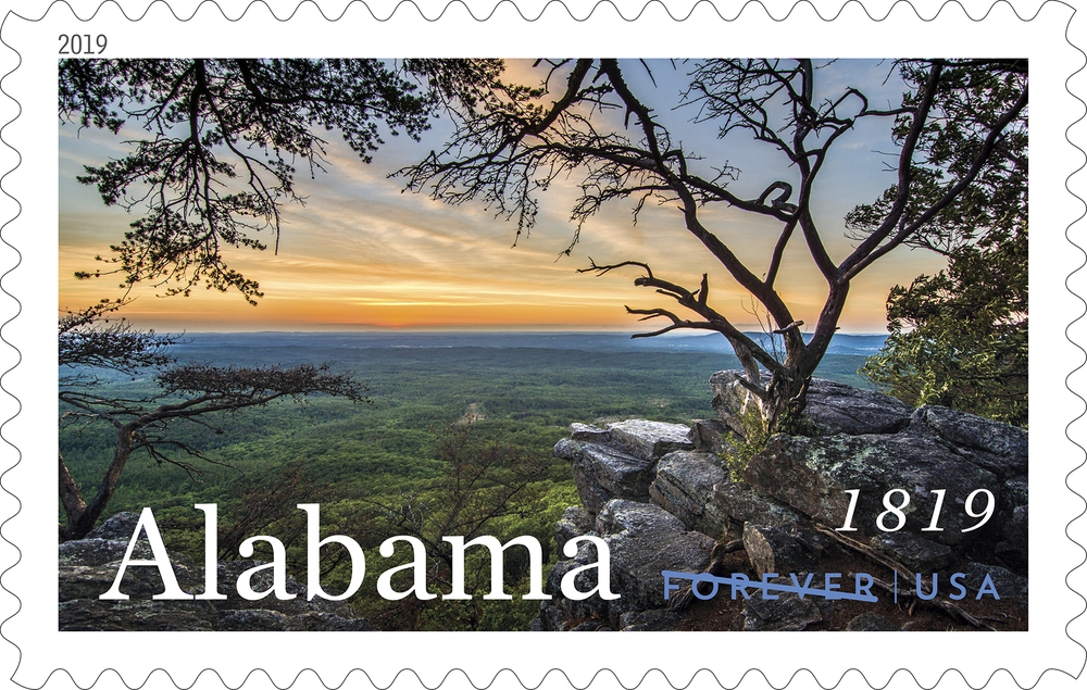 Alabama Statehood Stamp Honors its Bicentennial