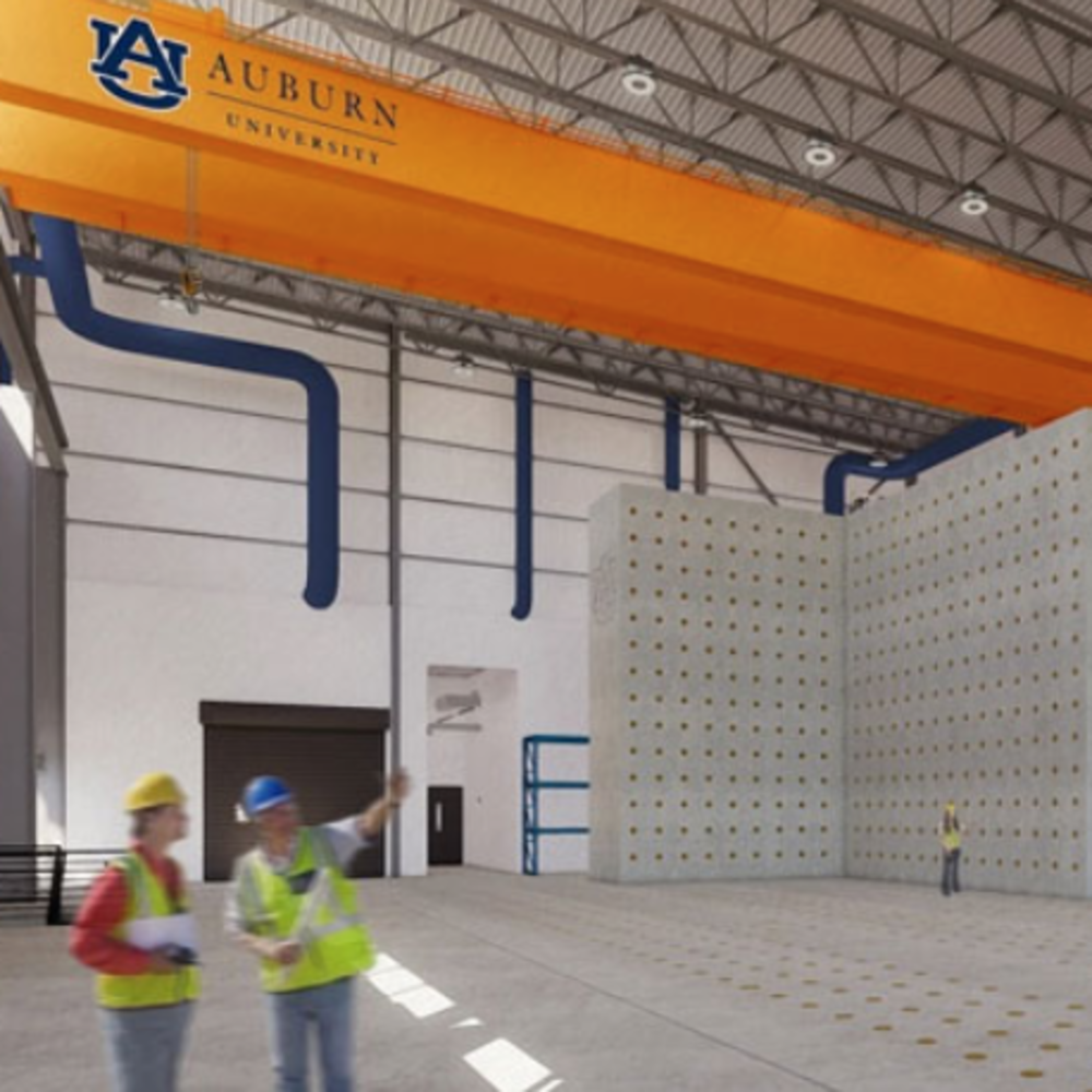 Auburn University Constructing $22 Million Advanced Structural Testing Laboratory