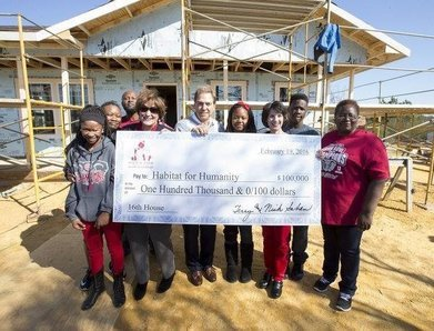 Nick's Kids Foundation Builds 16th House