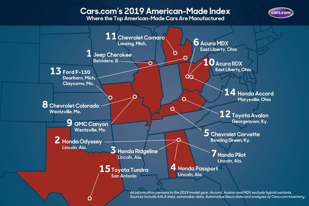 Alabama Leads Nation in 'American-Made' Automobile Production