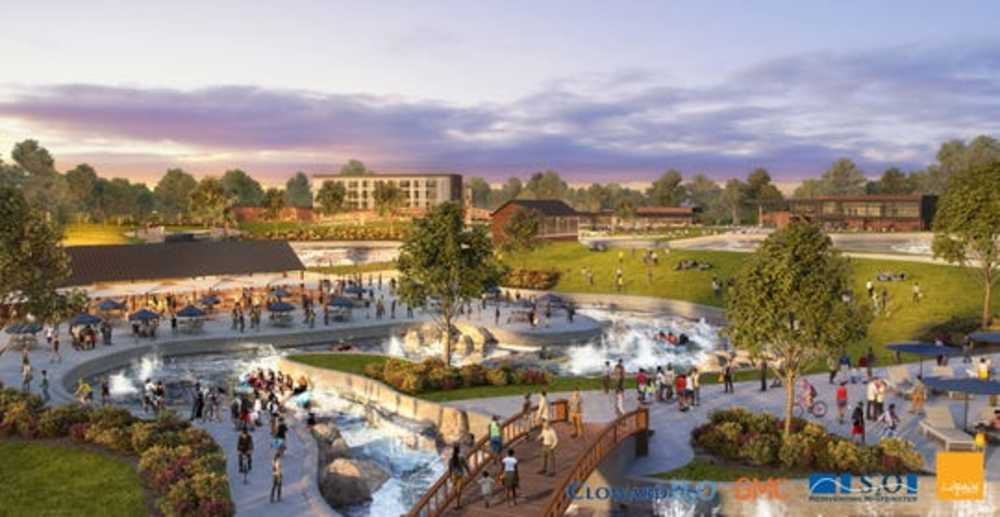 Multimillion Dollar Whitewater Park, Outdoor Center Coming to Downtown Montgomery