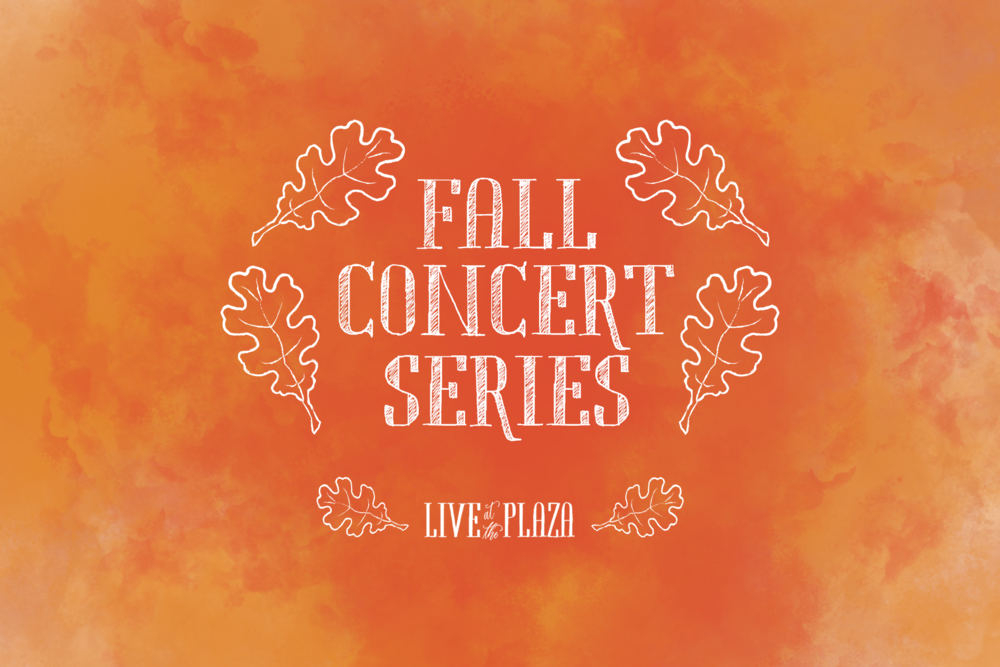 Live at the Plaza 2019 to Extended Concert Series for Fall