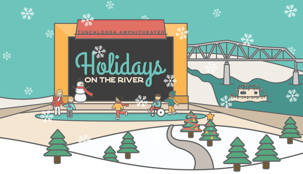 City of Tuscaloosa's Holidays on the River returns to the Tuscaloosa Amphitheater