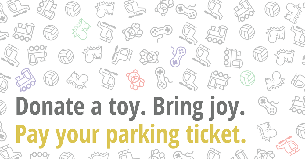 City to allow parking tickets to be paid with Toys for Tots donation