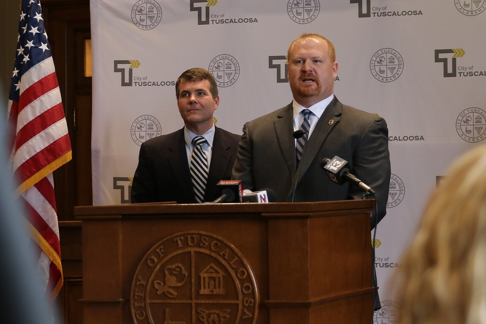 Tuscaloosa Mayor Walt Maddox Appoints Brent Blankley as New Chief of Police