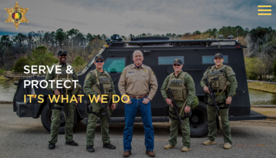 TUSCALOOSA COUNTY SHERIFF'S OFFICE UNVEILS NEW INTERACTIVE WEBSITE DESIGN