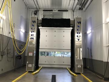 New auto truck wash decreases operational cost, labor, effort & wash time.
