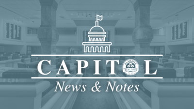 Capitol News & Notes: Week Eight